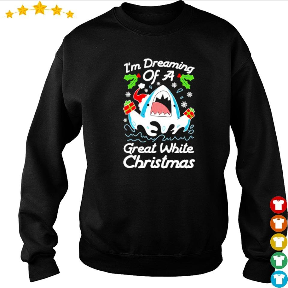I'm dreaming of a great white Christmas sweater