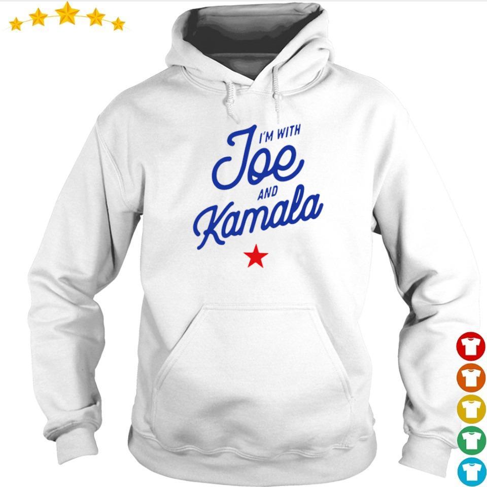 I'm with Joe and Kamala 2020 s hoodie