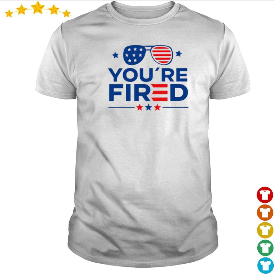 Joe Biden you're fired Trump 2020 shirt