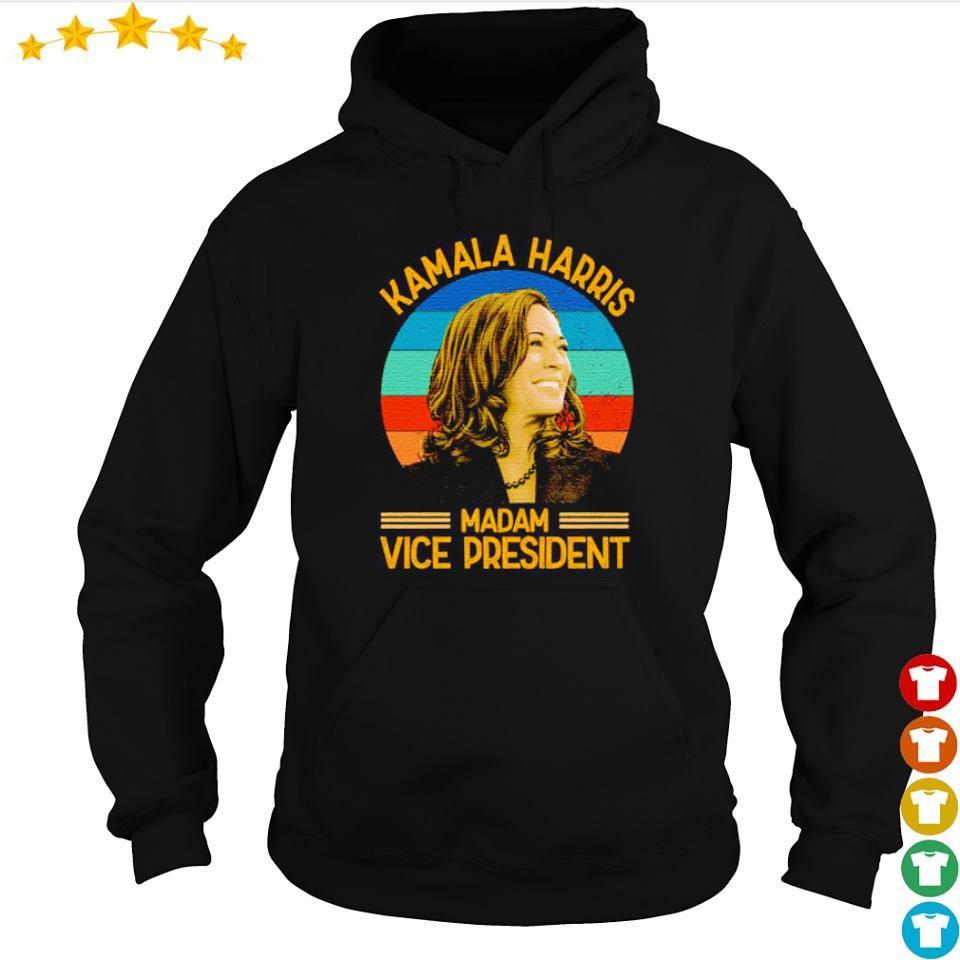 Kamala Harris madam vice president vintage s hoodie