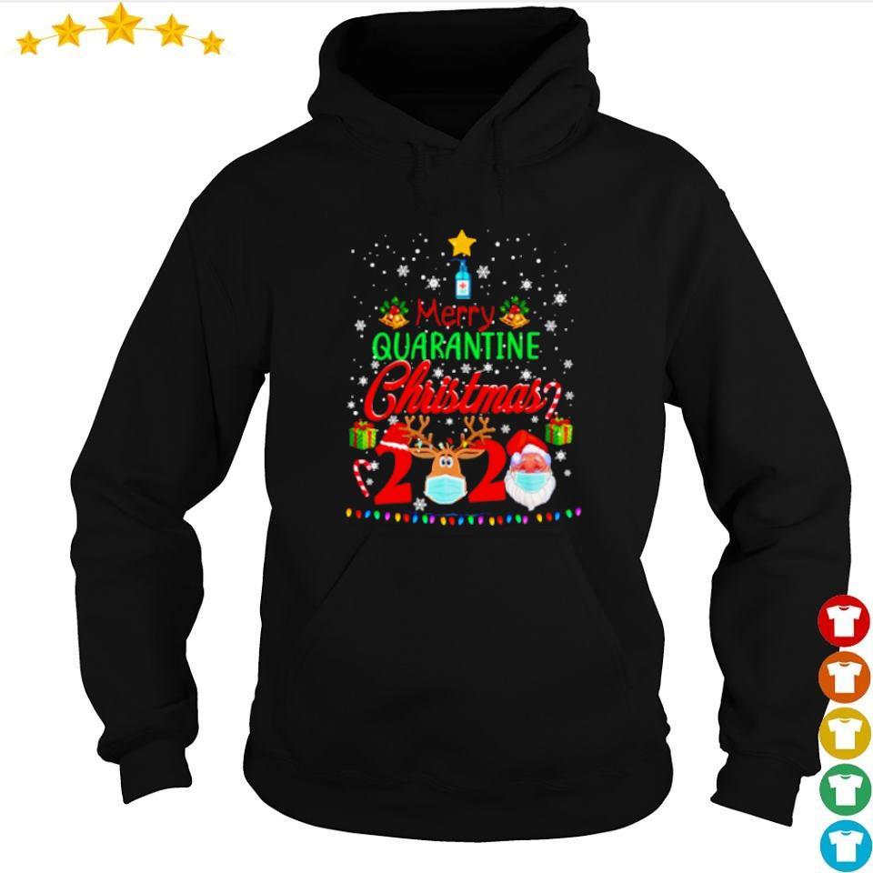 Merry quarantine Christmas 2020 sweater hoodie