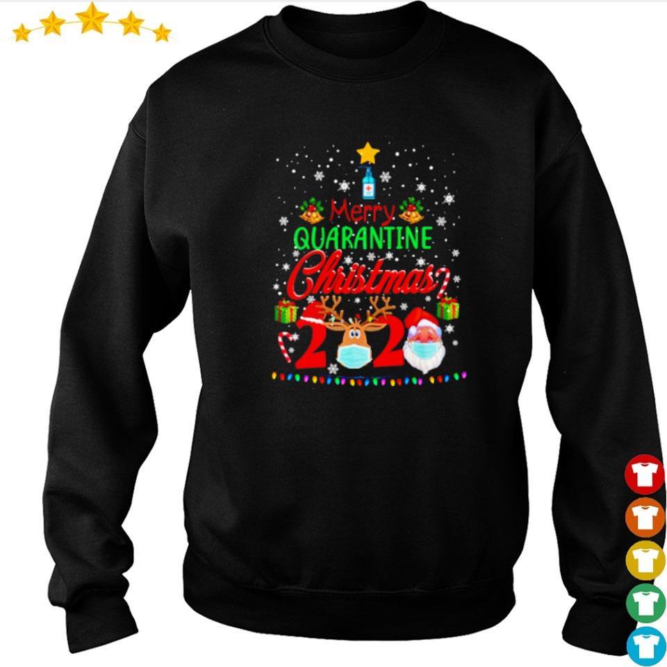 Merry quarantine Christmas 2020 sweater