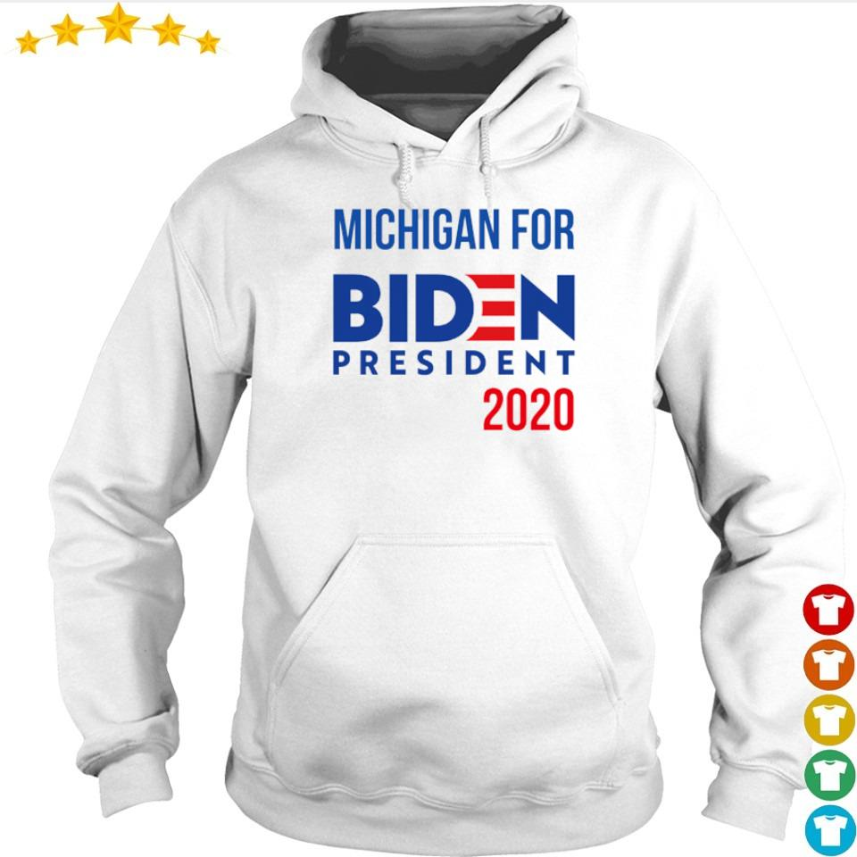 Michigan for Joe Biden president 2020 s hoodie
