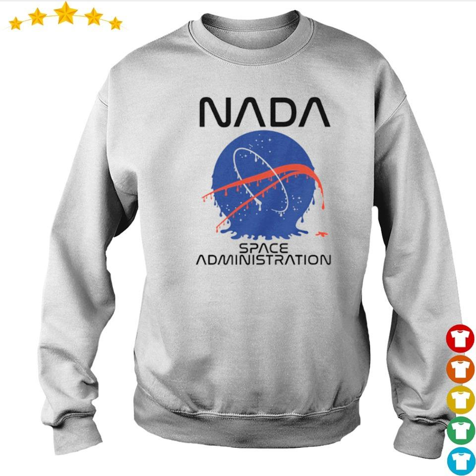 NADA space administration s sweater