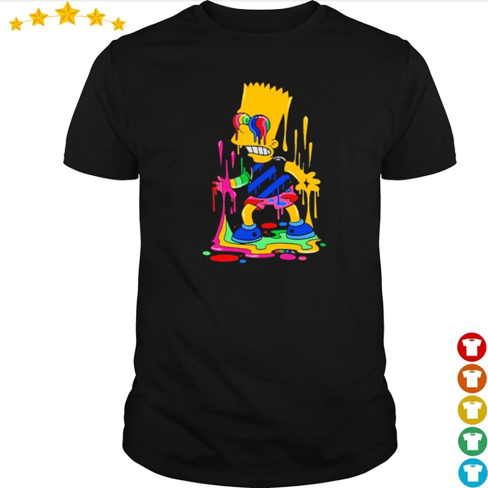 Official Bart Simpson trippy shirt