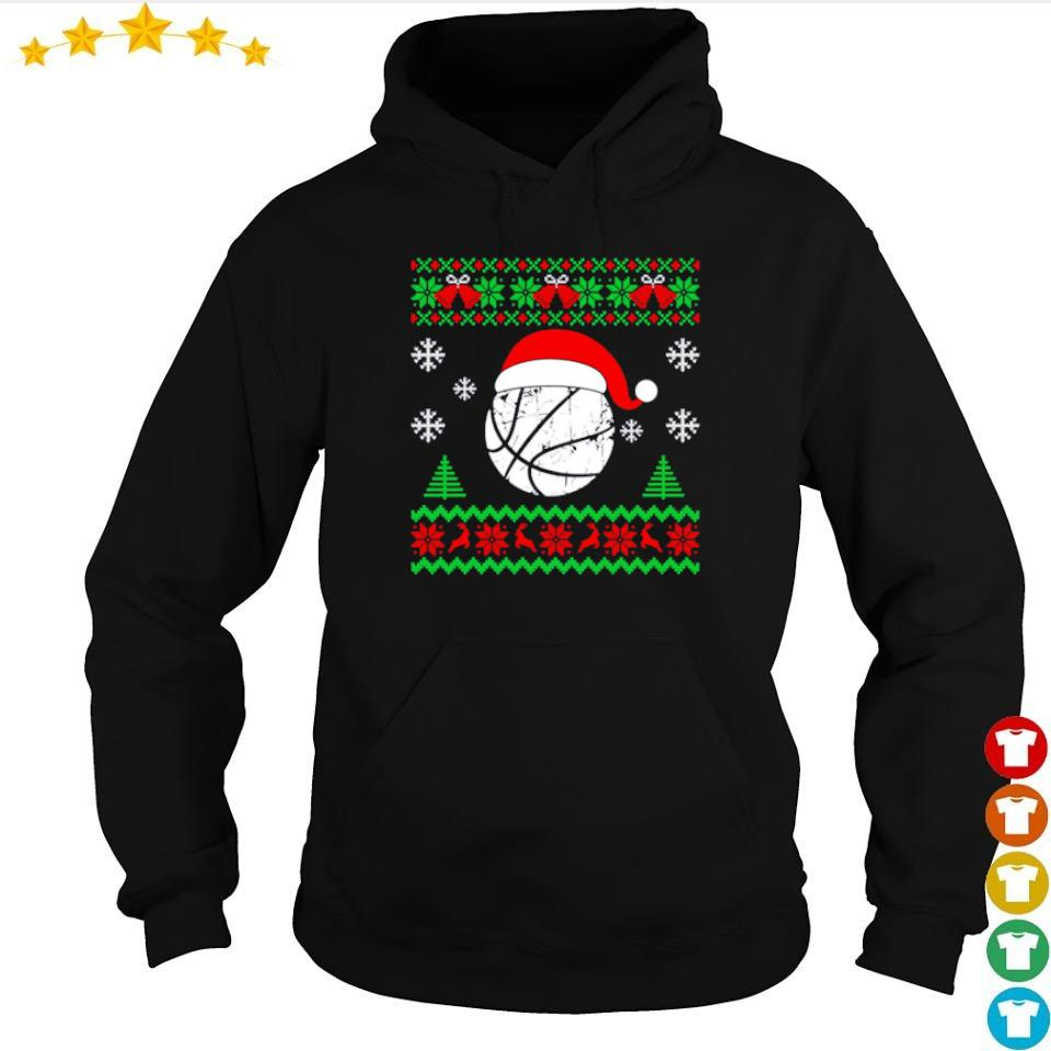 Official basketball merry Christmas sweater hoodie