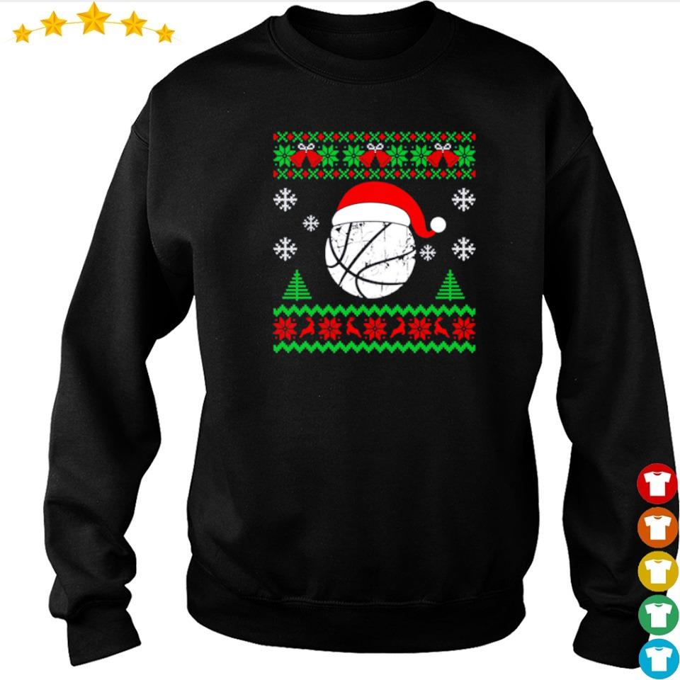 Official basketball merry Christmas sweater