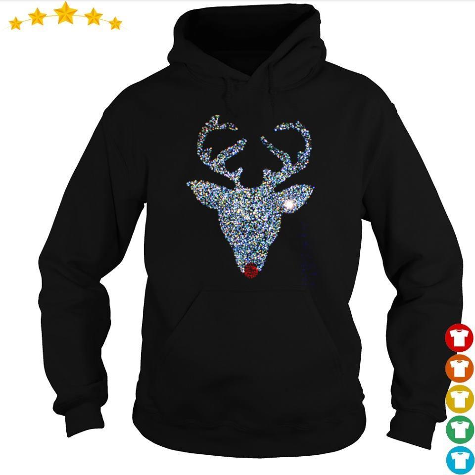 Official diamonds reindeer art merry Christmas sweater hoodie