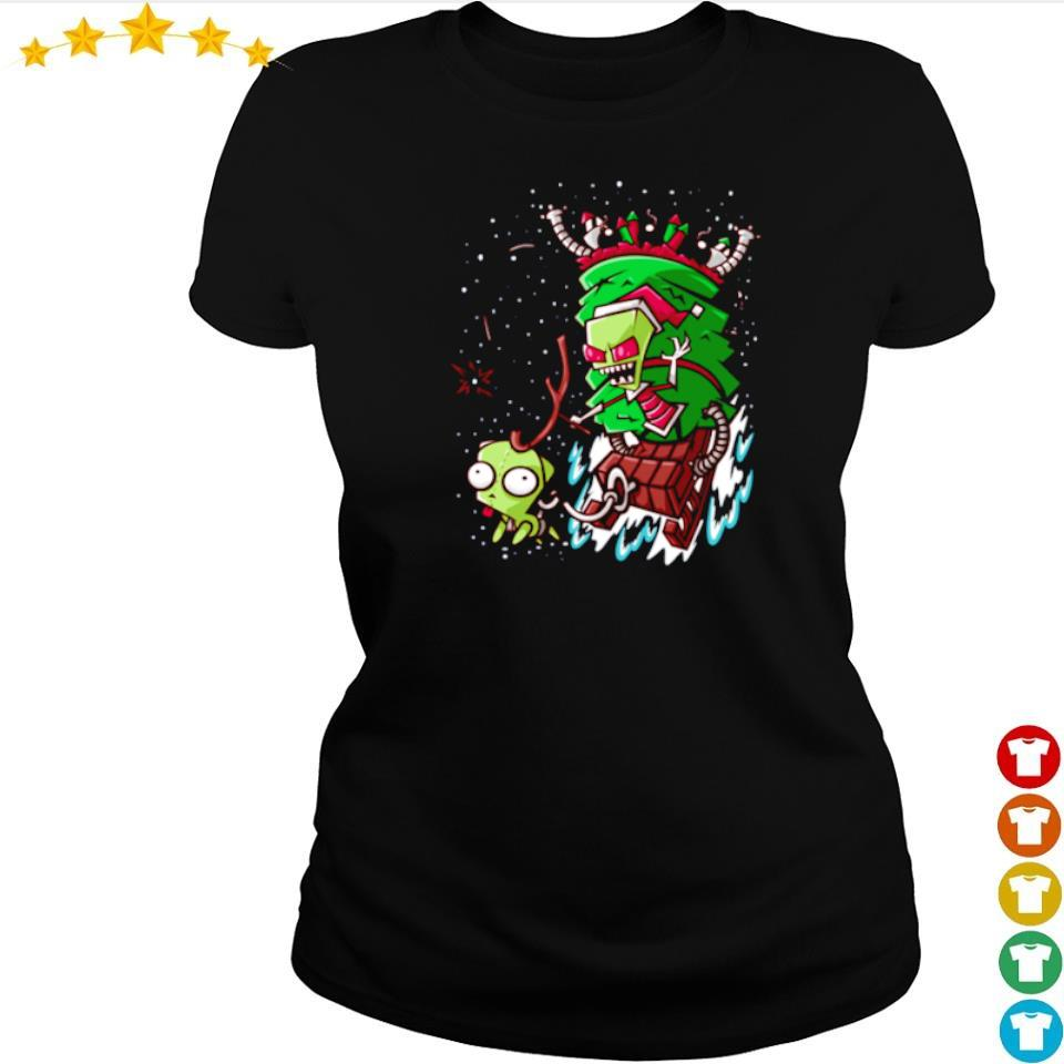 Official Jim stealing Christmas sweater ladies tee