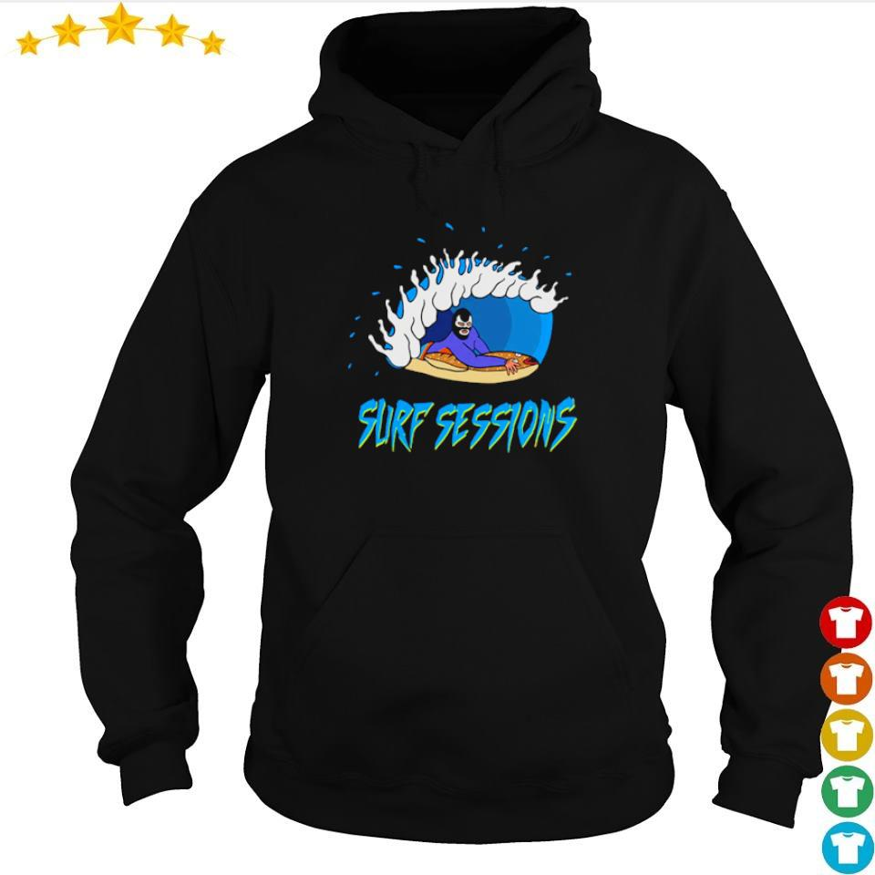 Official powerfish surf sessions s hoodie