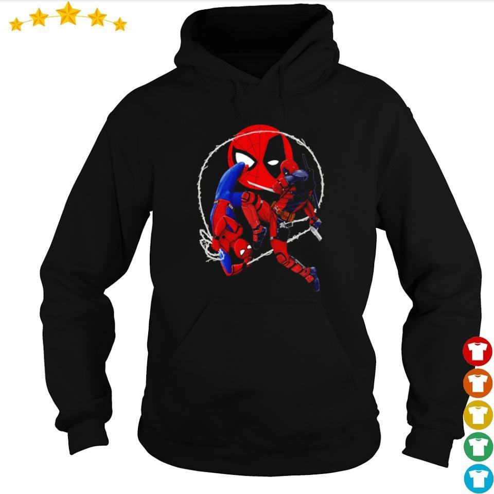 Official Spiderman vs Deadpool s hoodie