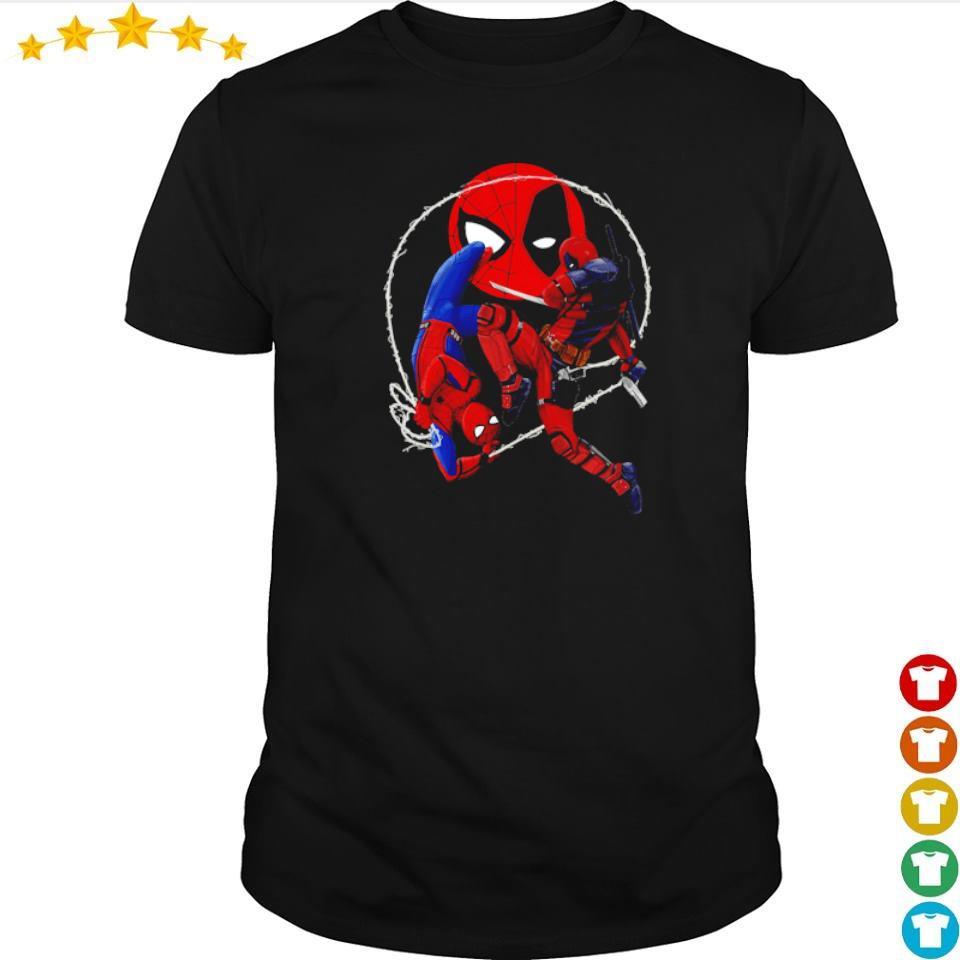 Official Spiderman vs Deadpool shirt