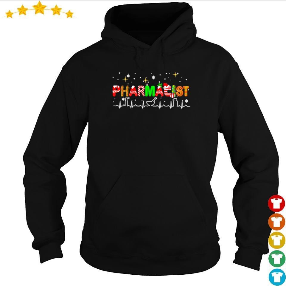 Pharmacist life happy Christmas sweater hoodie