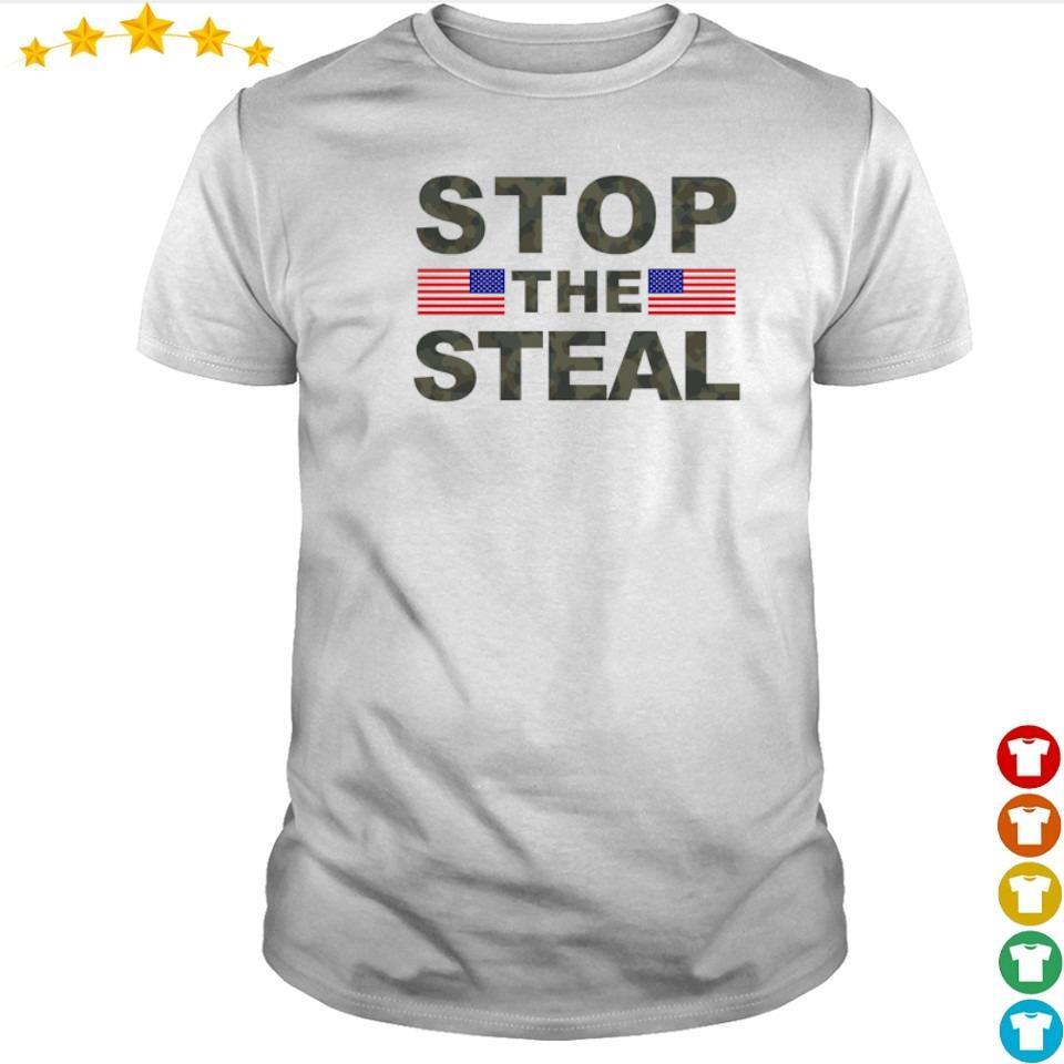 President Joe Biden stop the steal shirt