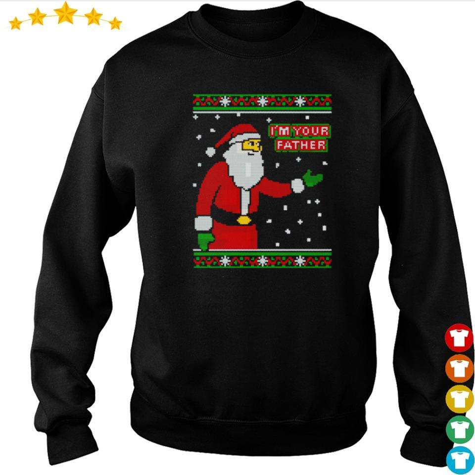 Santa Claus I'm your father happy Christmas sweater