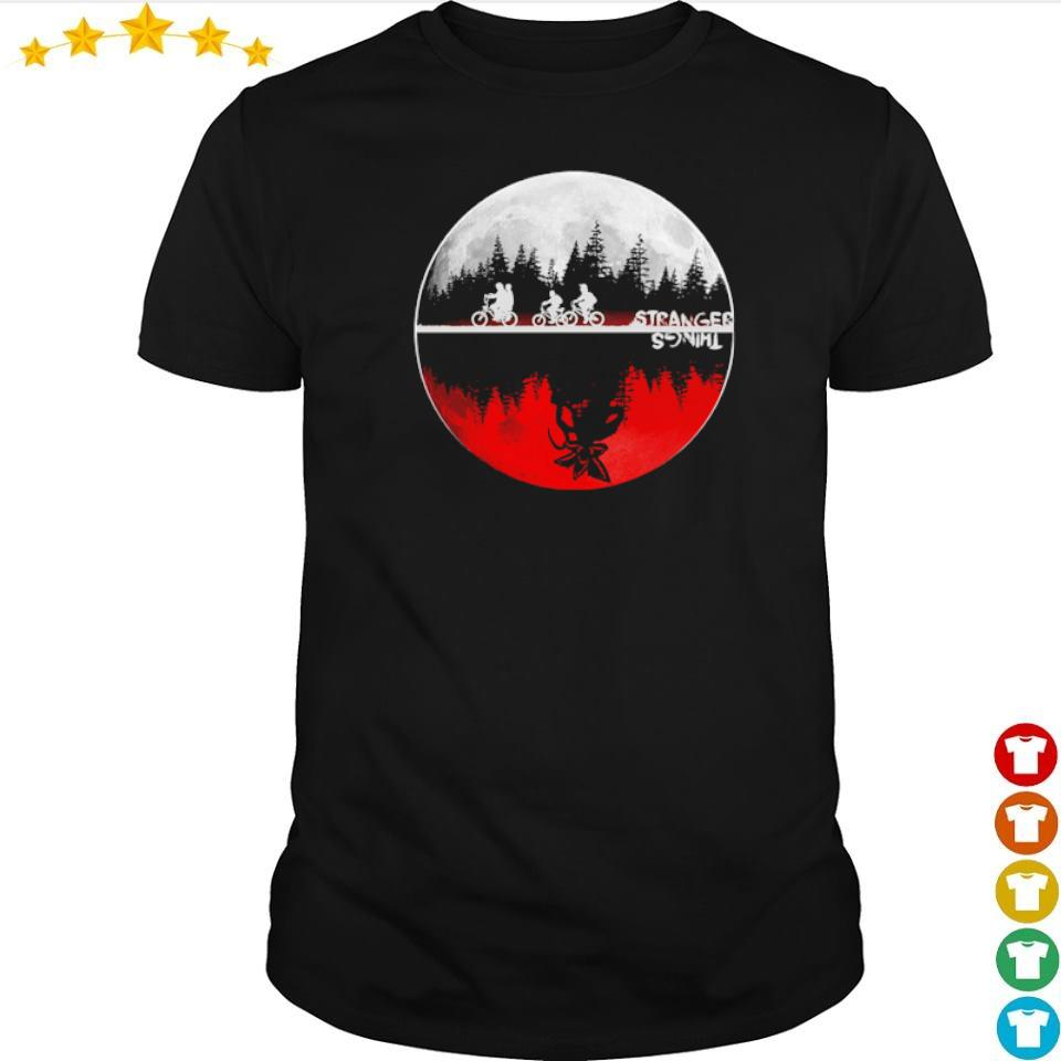 Stranger Things red moon shirt