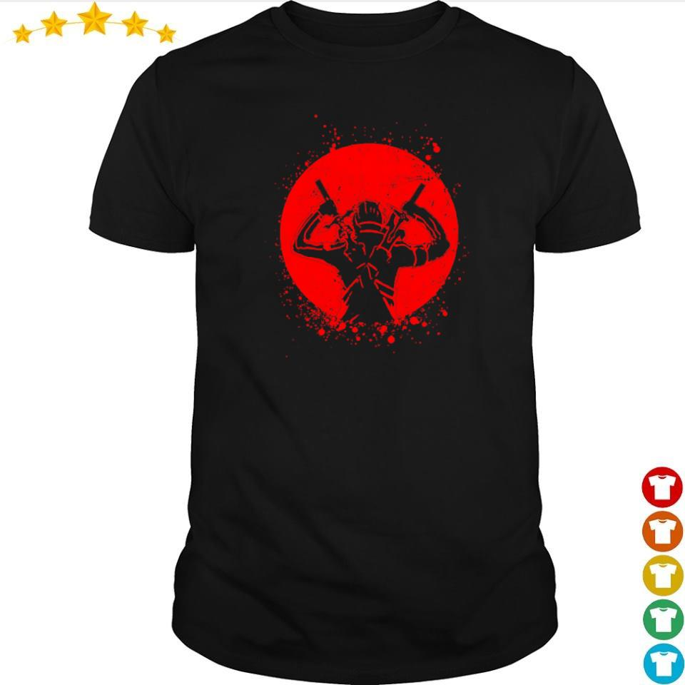 Sword Art Online Kirito dual sword art shirt