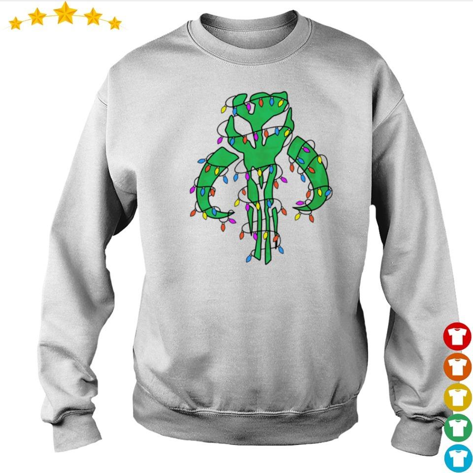 The Mandalorian happy Christmas sweater