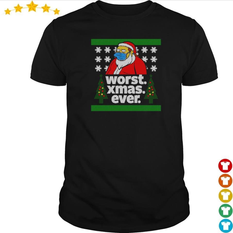 The Simpsons worst Xmas ever shirt