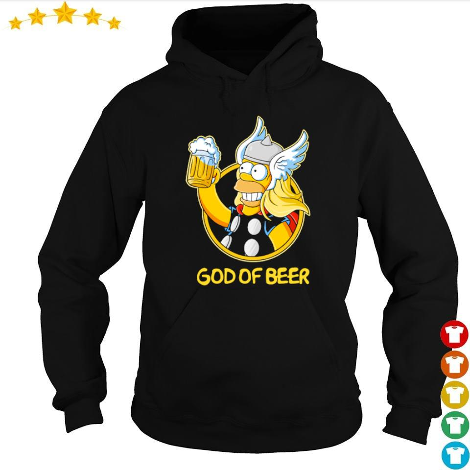Thomer god of beer s hoodie