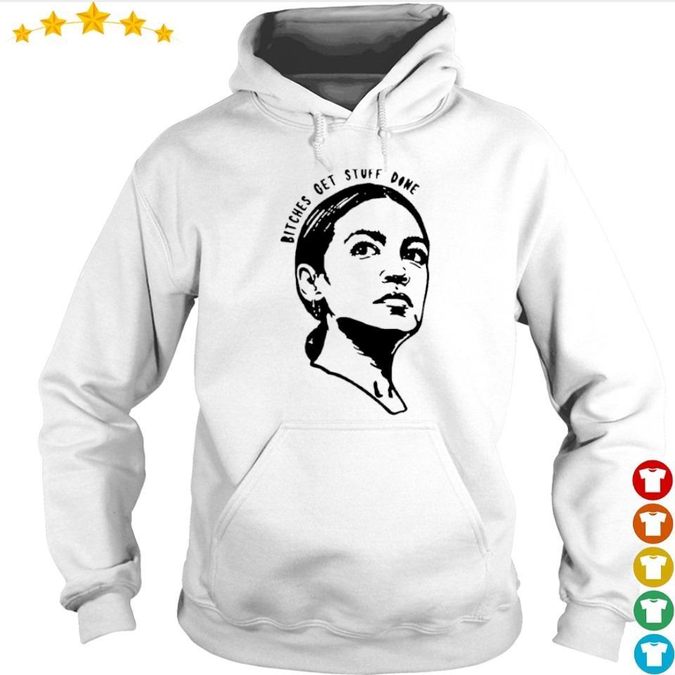 Tinamy Tina Fey bitches get stuff done s hoodie