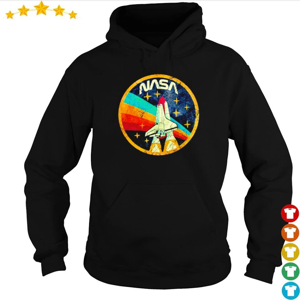 USA NASA spaceship vintage s hoodie