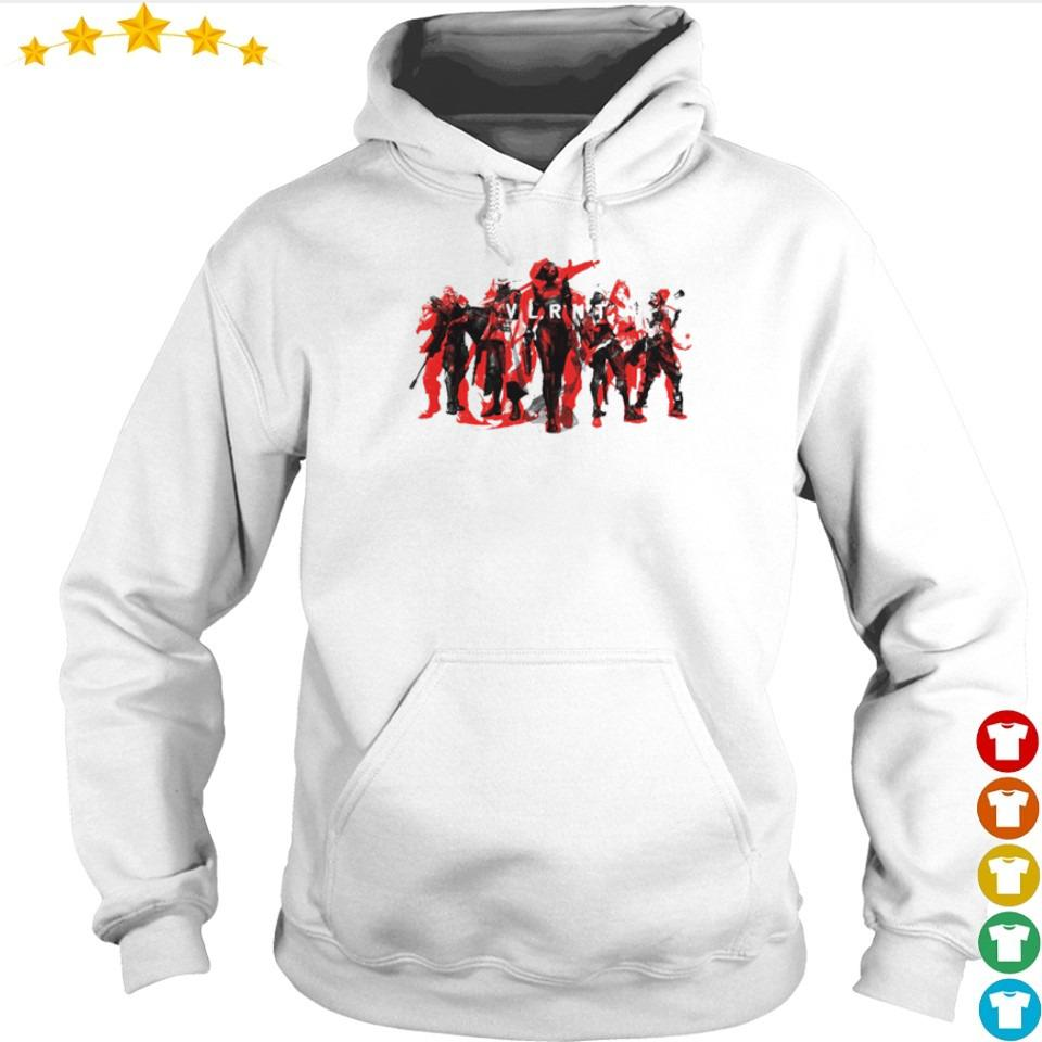 We are Valorant characters s hoodie
