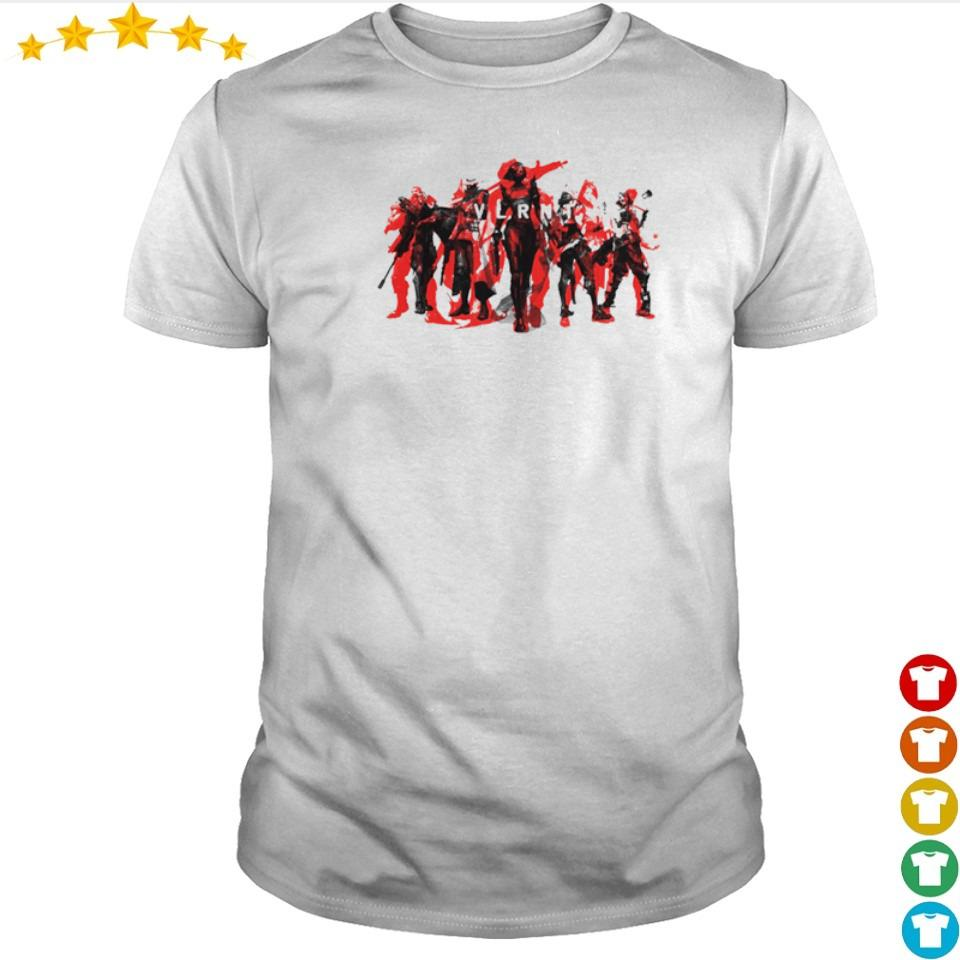 We are Valorant characters shirt