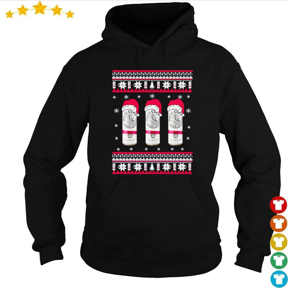 White claw black cherry merry Christmas sweater hoodie