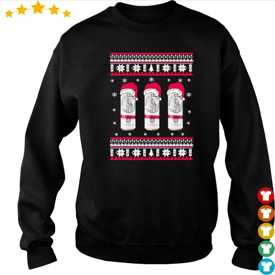 White claw black cherry merry Christmas sweater