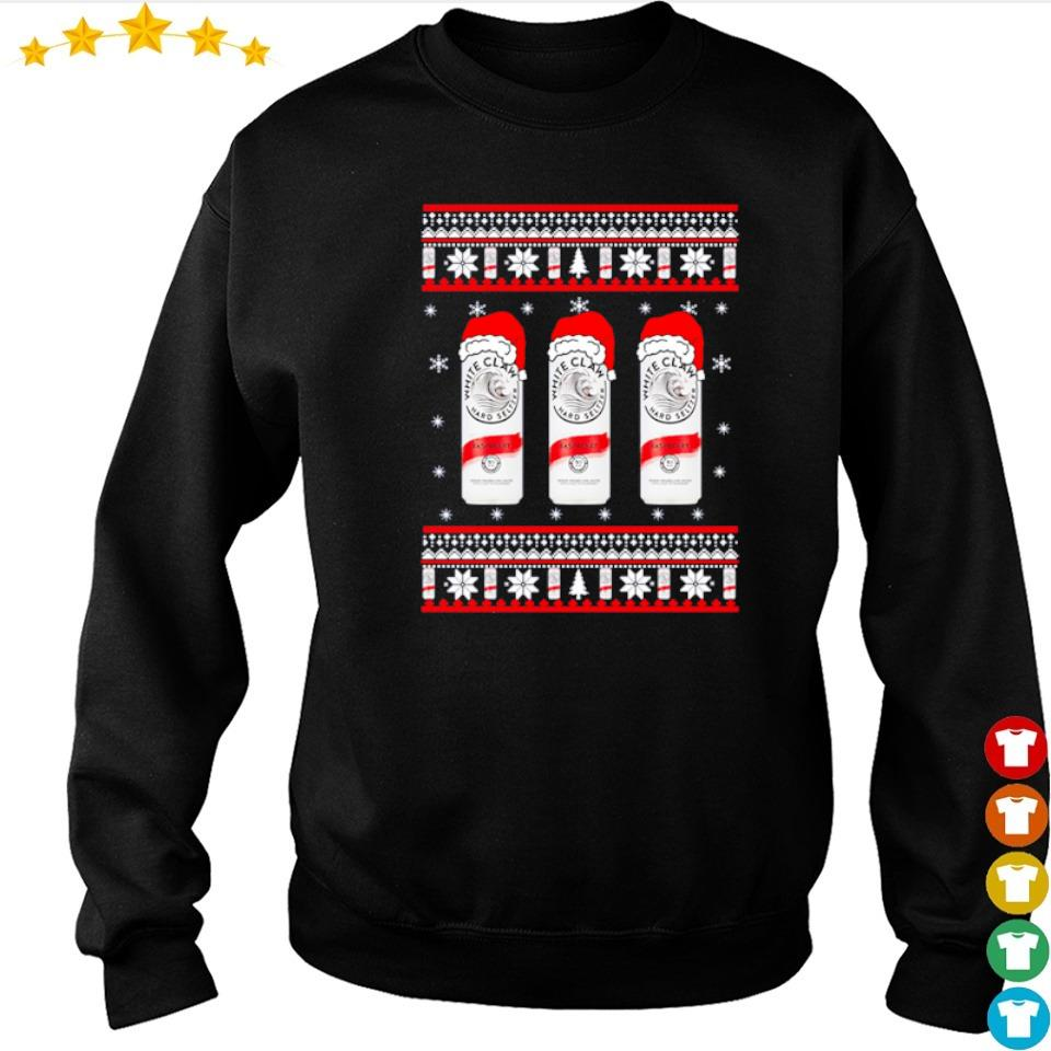 White claw raspberry merry Christmas sweater