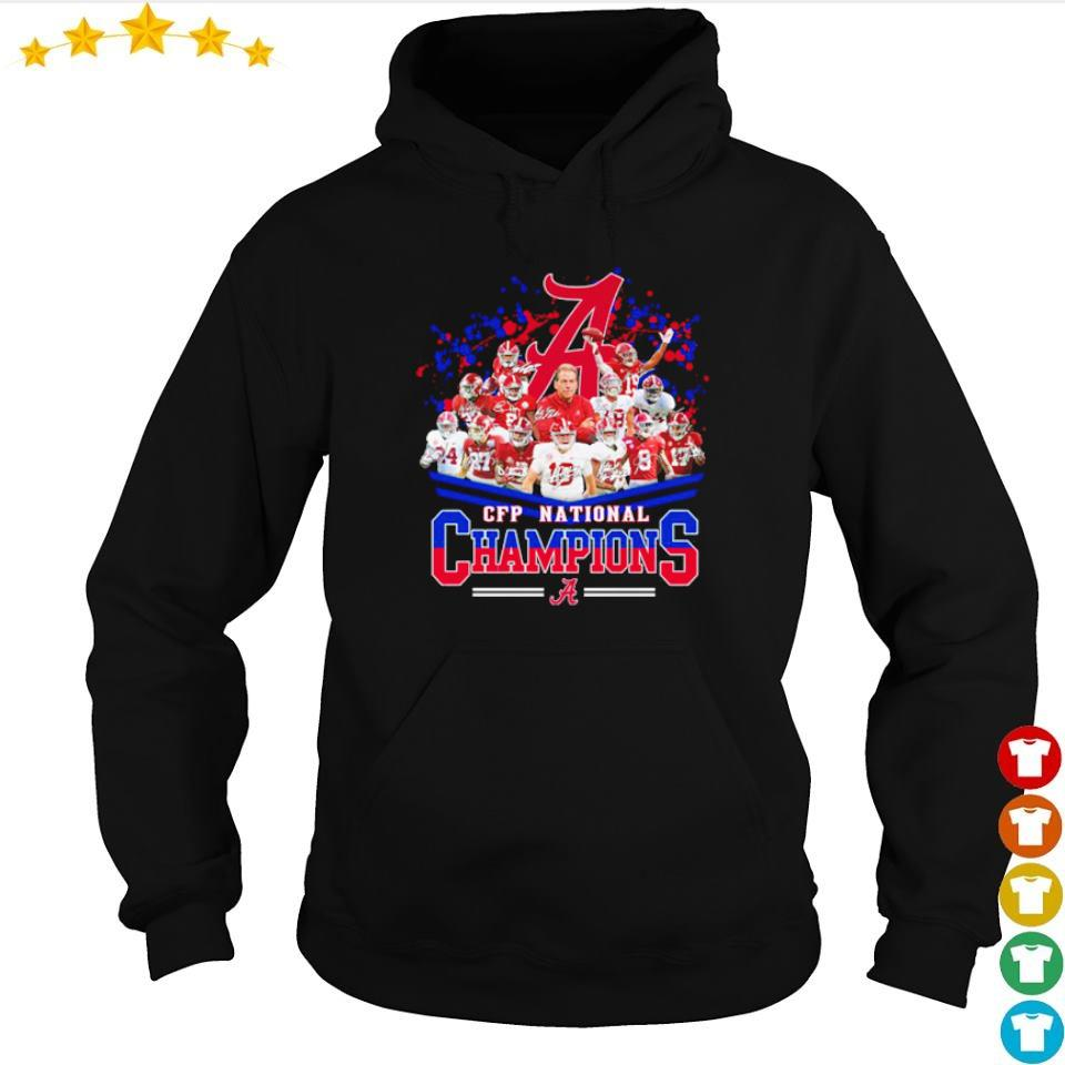 Alabama Crimson Tide CFP National Champions 2021 s hoodie
