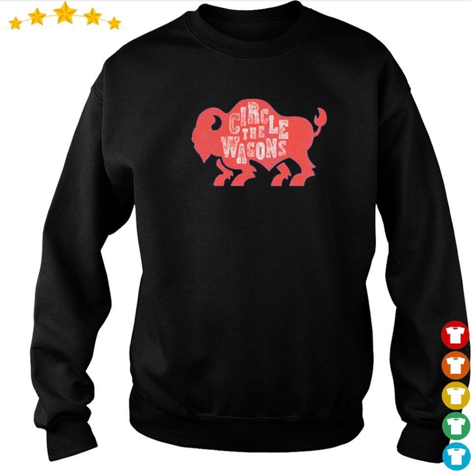 Buffalo Bills circle the wagons 2021 shirt