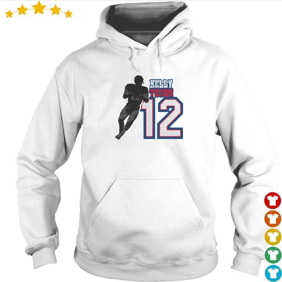Buffalo Bills Kelly Tough number 12 2021 s hoodie
