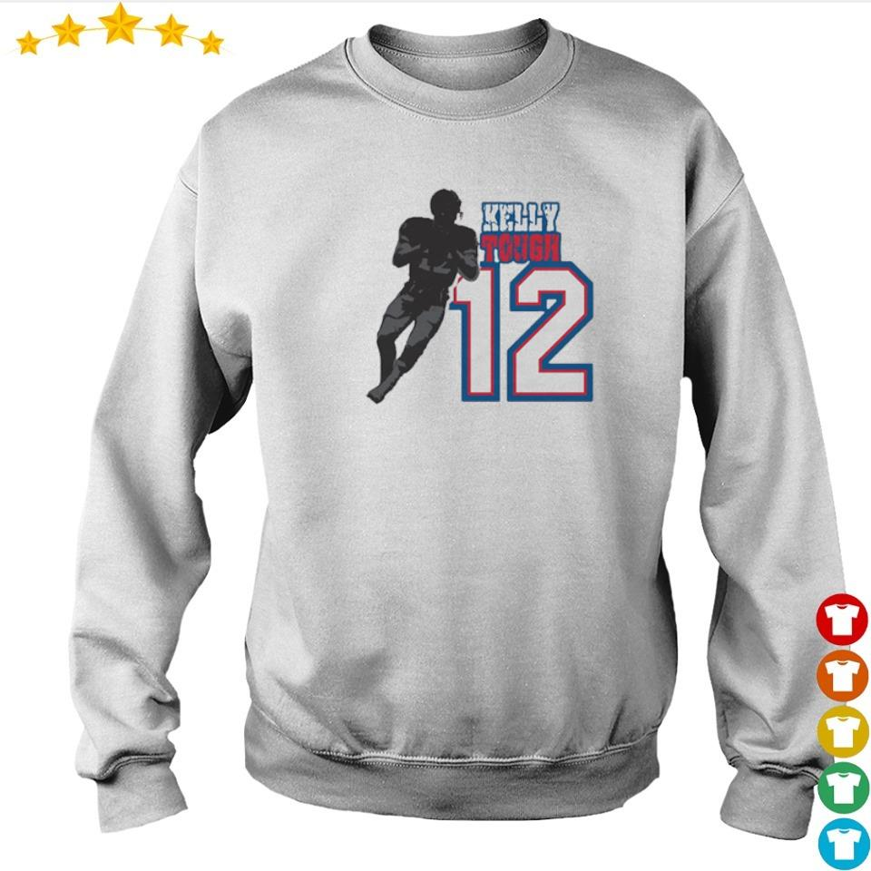 Buffalo Bills Kelly Tough number 12 2021 shirt