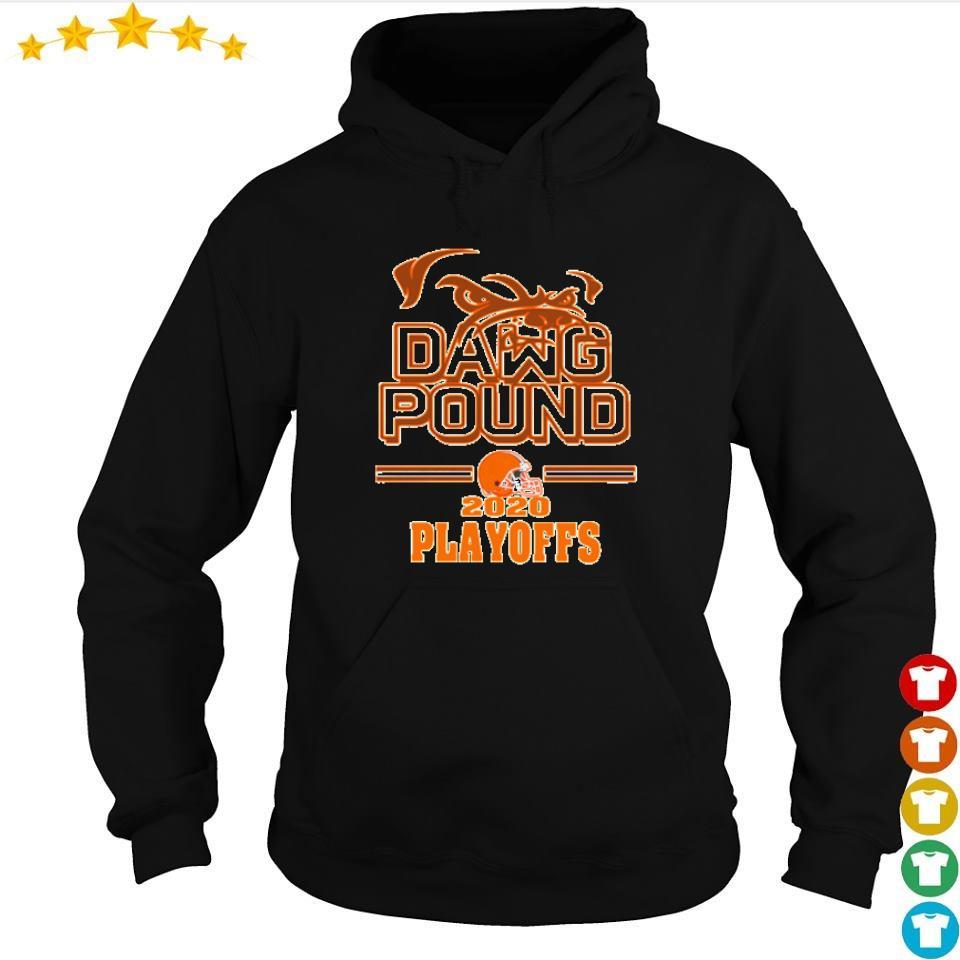 Cleveland Browns dawg pound 2020 playoffs s hoodie