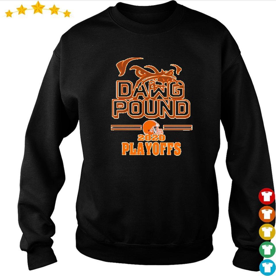 Cleveland Browns dawg pound 2020 playoffs shirt