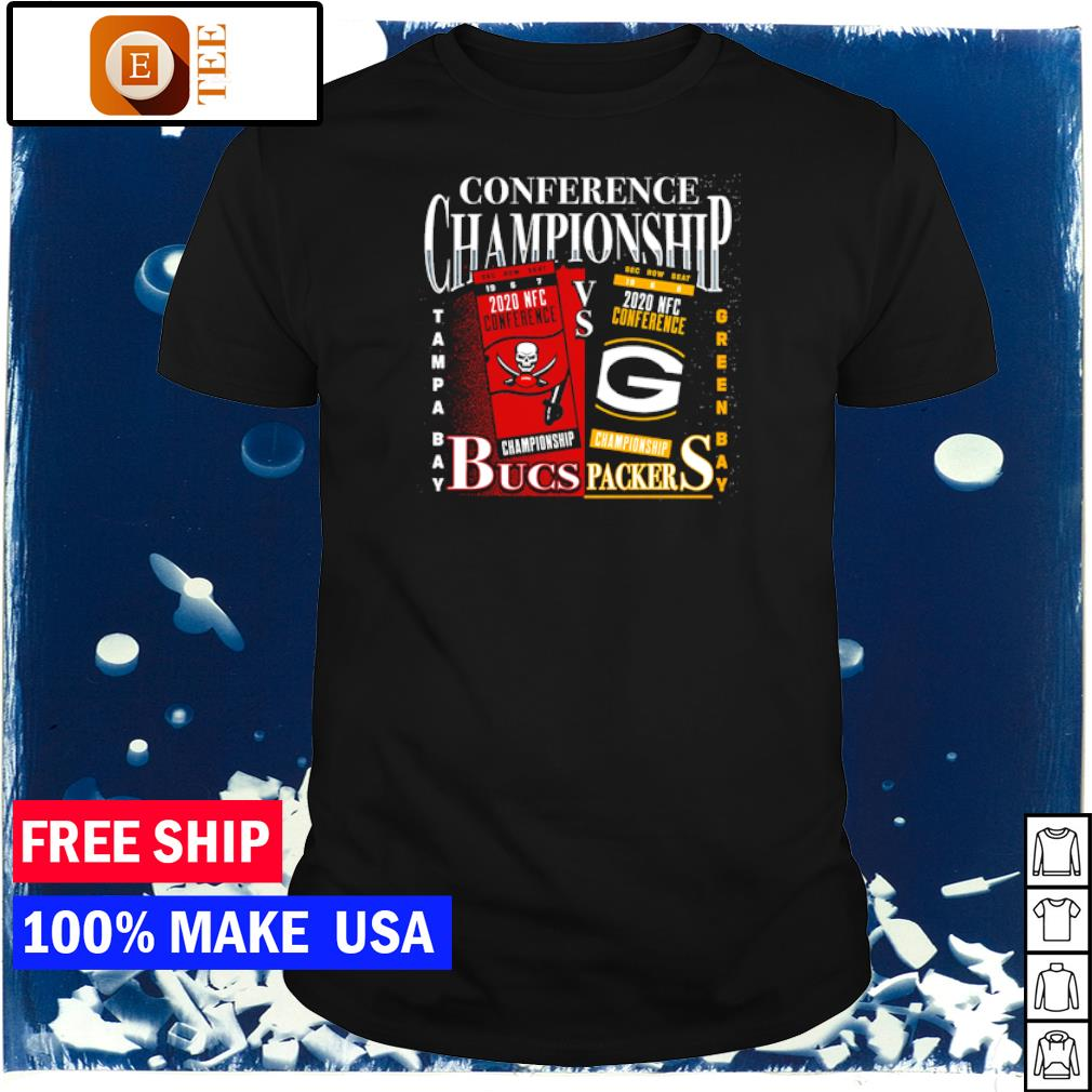 Conference Championship Tampa Bay Buccaneers vs Green Bay Packers shirt