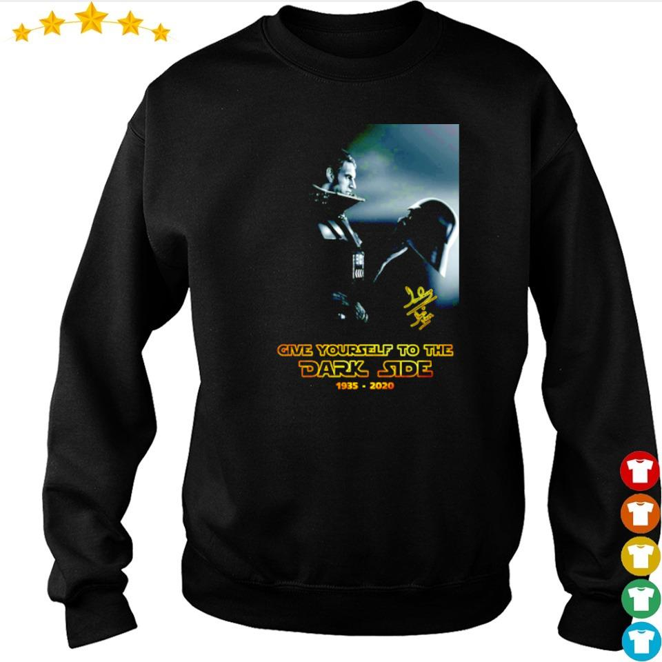Darth Vader give yourself to the dark side 1935 2020 signature shirt