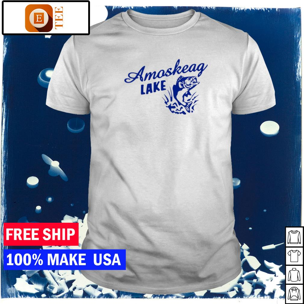 Fisherman amoskeag lake shirt
