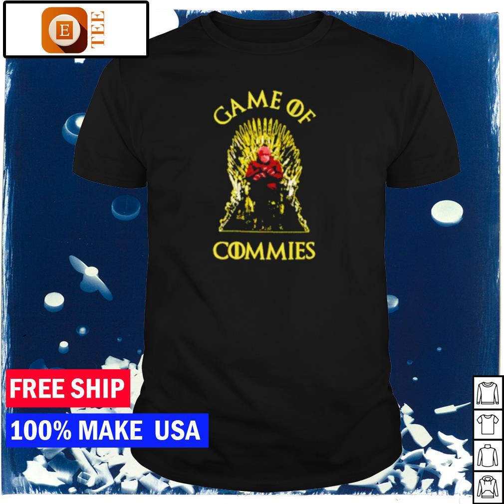 Game of Commies Berni Sanders meme shirt