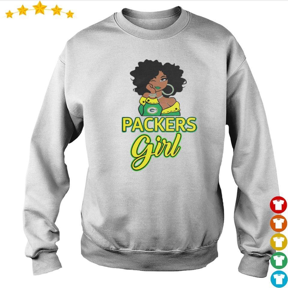 Green Bay Packers girl 2021 shirt