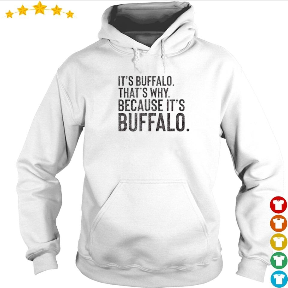 It's Buffalo that's why because it's Buffalo 2021 s hoodie