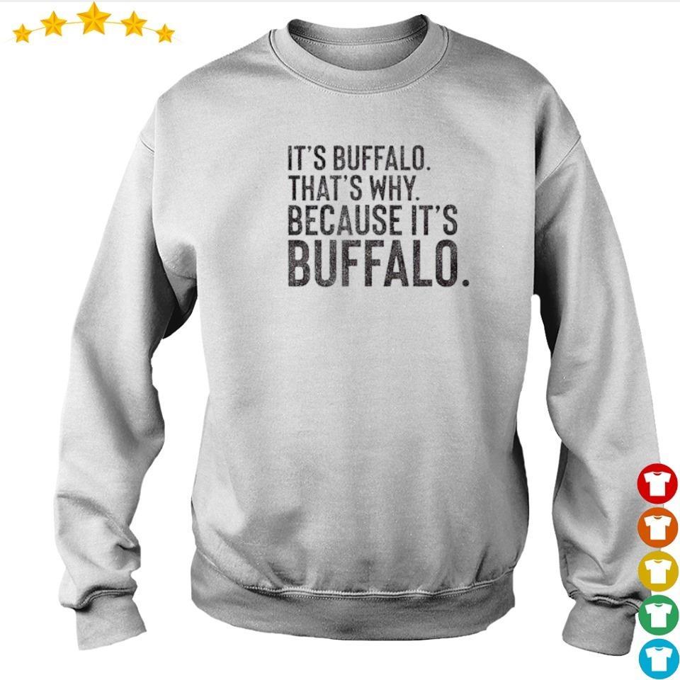 It's Buffalo that's why because it's Buffalo 2021 shirt