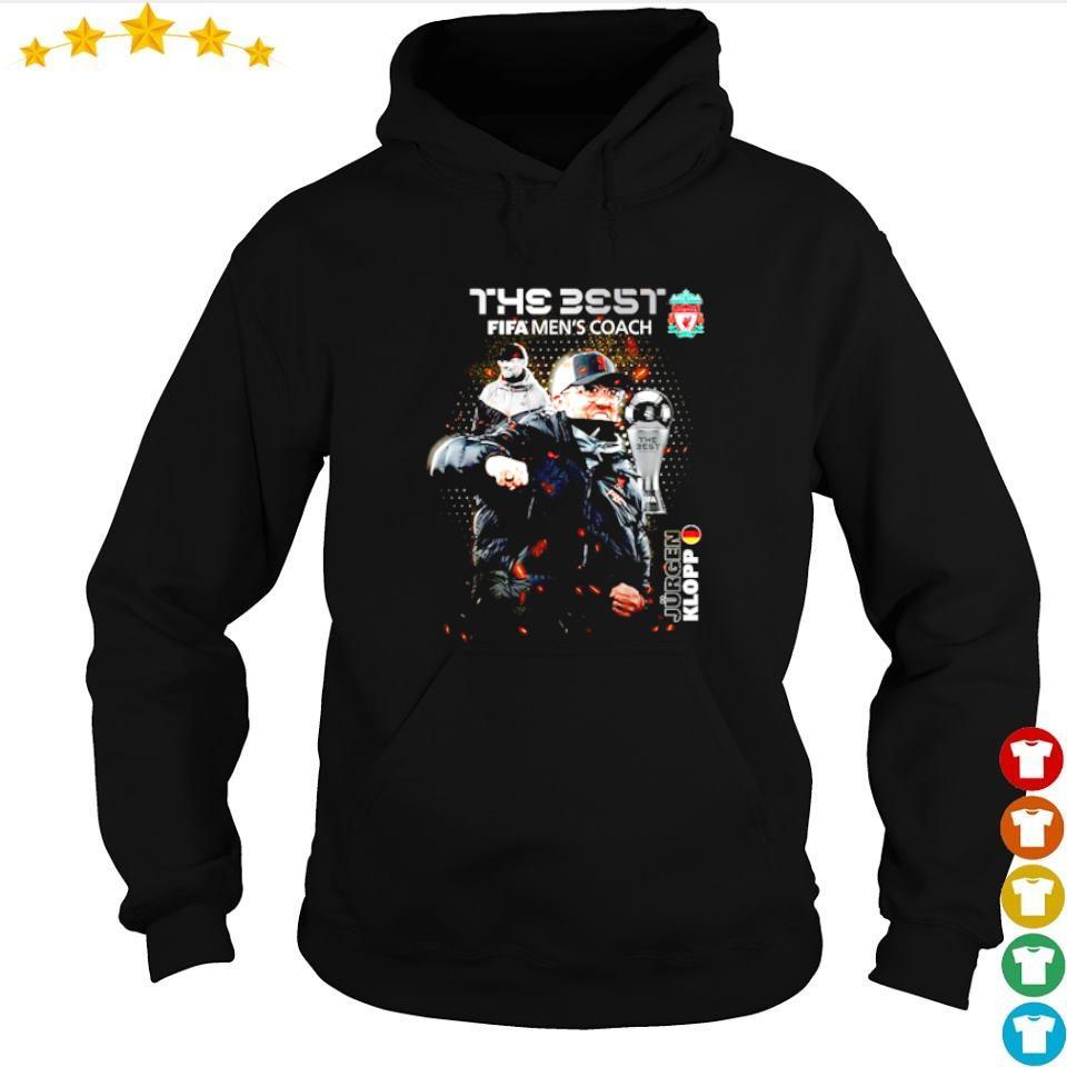 Jurgen Klopp the best fifa men's coach s hoodie