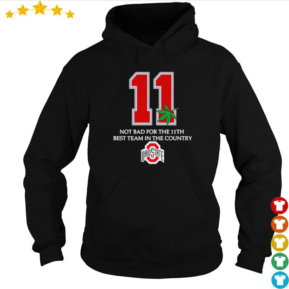 Ohio State Buckeyes 11 not bad for 11th best team in the country s hoodie
