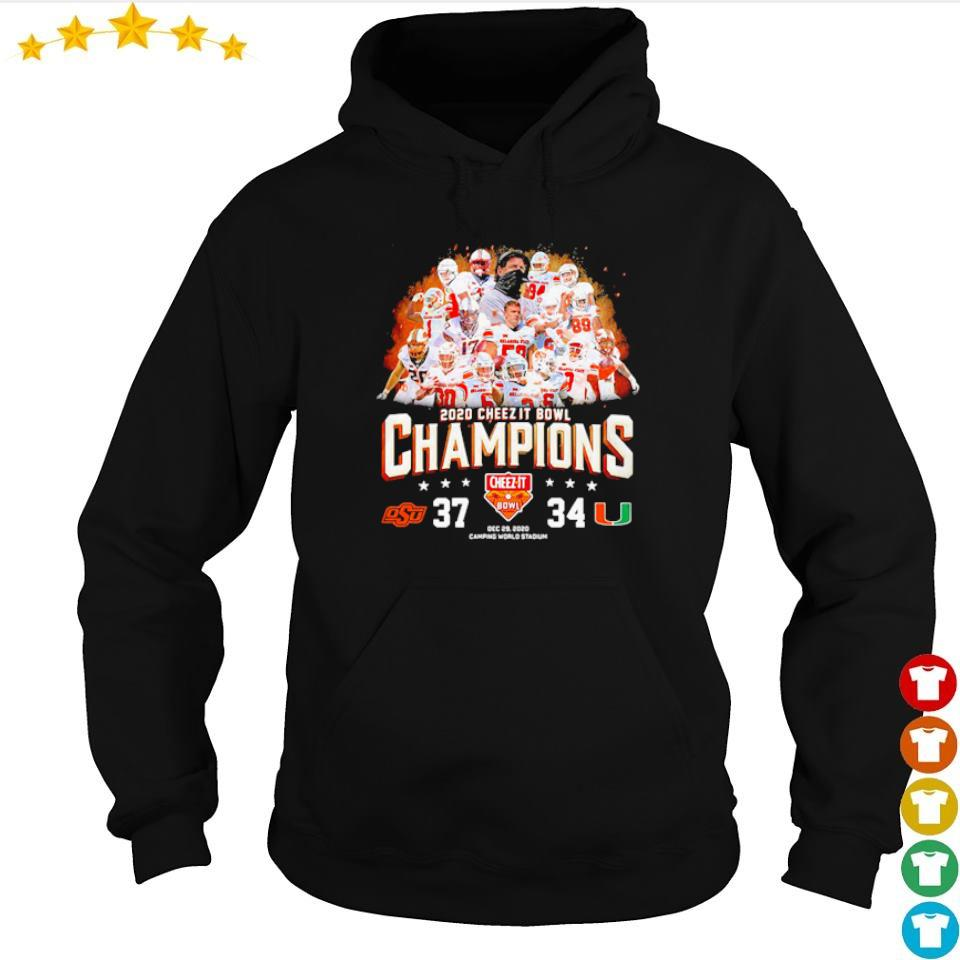 Oklahoma State 2020 cheez it bowl champions s hoodie
