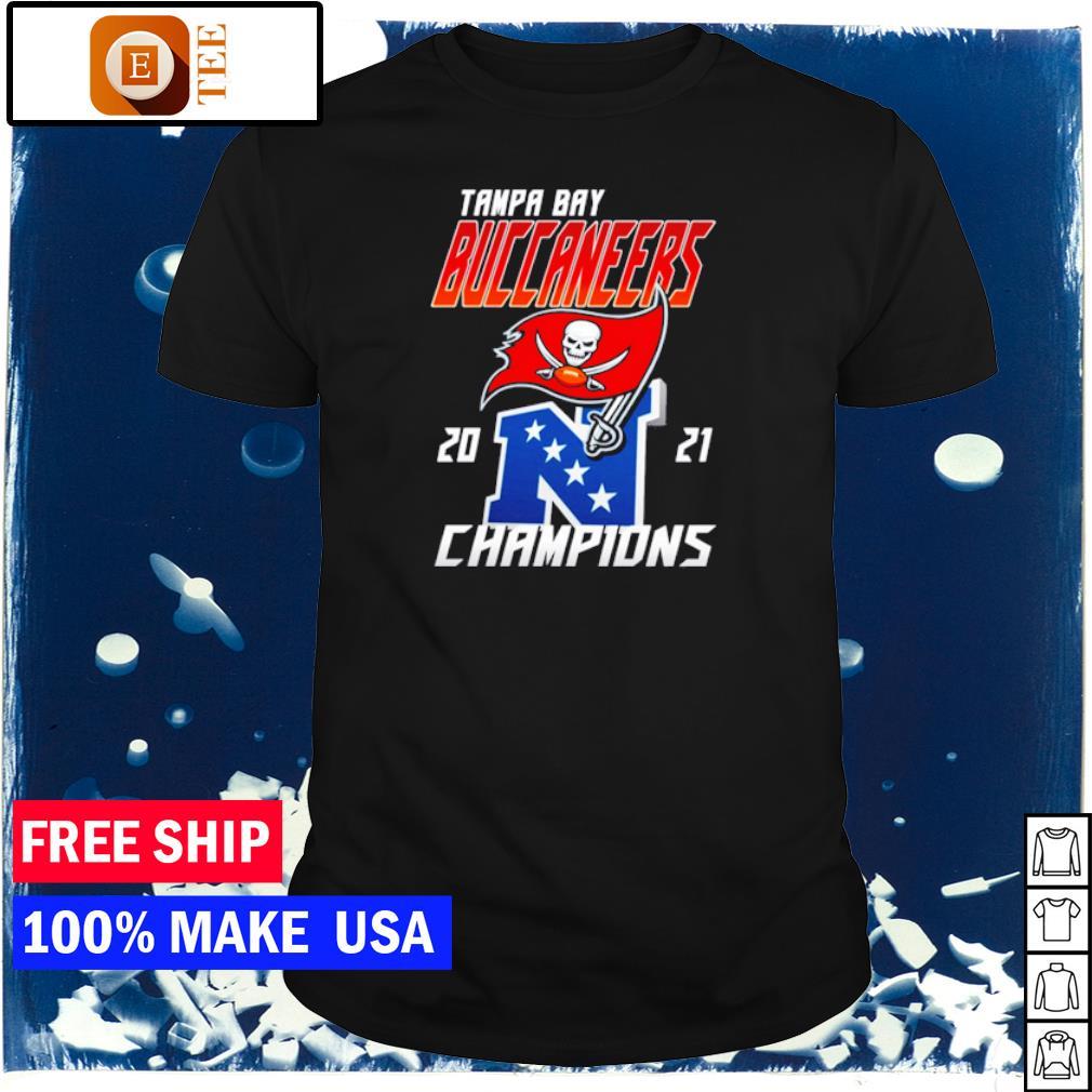 Tampa Bay Buccaneers 2021 Champions NFL shirt